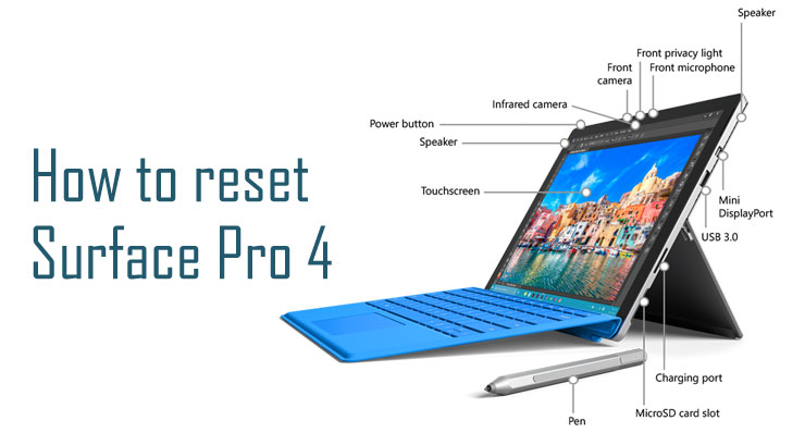 factory reset surface pro 4