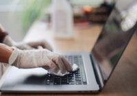 clean laptop keyboard